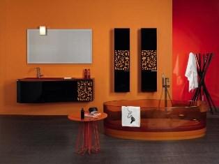 baie moderna portocalie