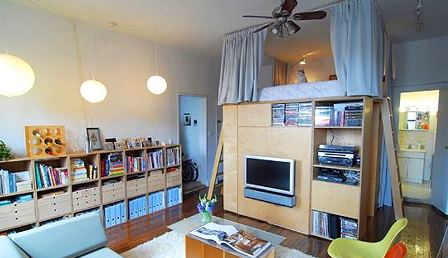 compartimentare camera pe verticala