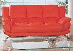 canapea cu picioare din inox, stil modern