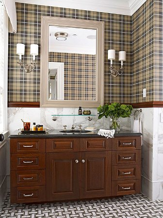 baie cu negru, bronz si mahon