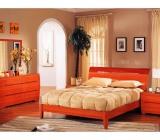 Modele de dormitoare din lemn masiv