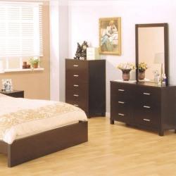 model dormitor din lemn masiv