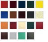 Cateva dintre culorile potrivite pentru dormitor, dar si cateva exemple despre cum putem combina culorile.